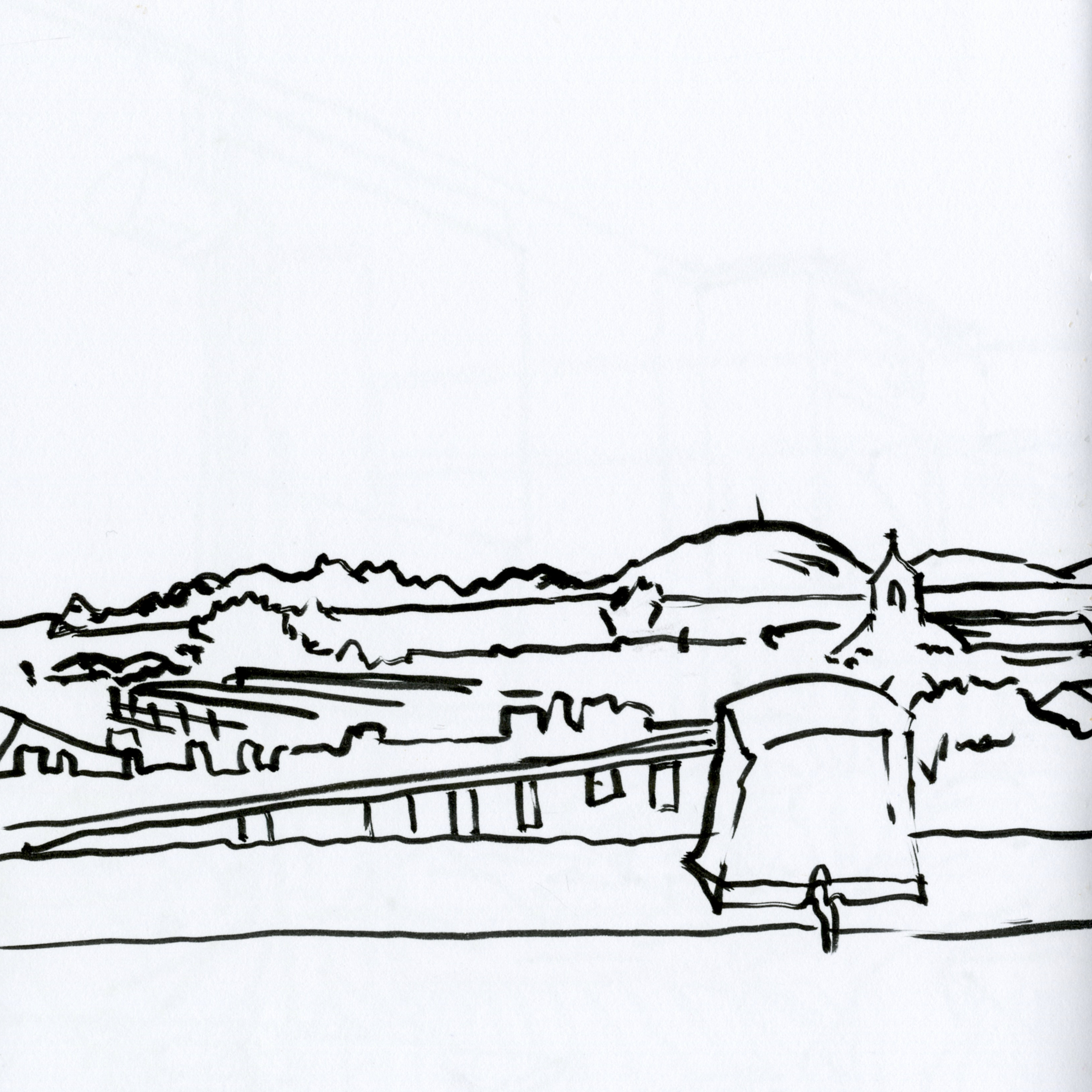 3285x3284 Marseille Xxiii The Smooth Blog To Travel Drawing