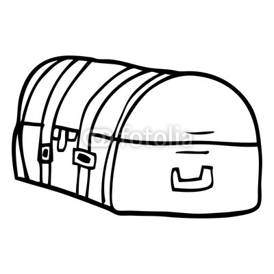 400x400 Line Drawing Cartoon Travel Chest Buy Photos Ap Images