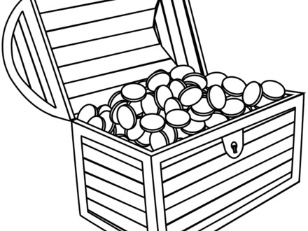 Treasure Chest Drawing | Free download on ClipArtMag