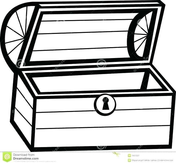 Treasure Chest Drawing | Free download best Treasure Chest ...