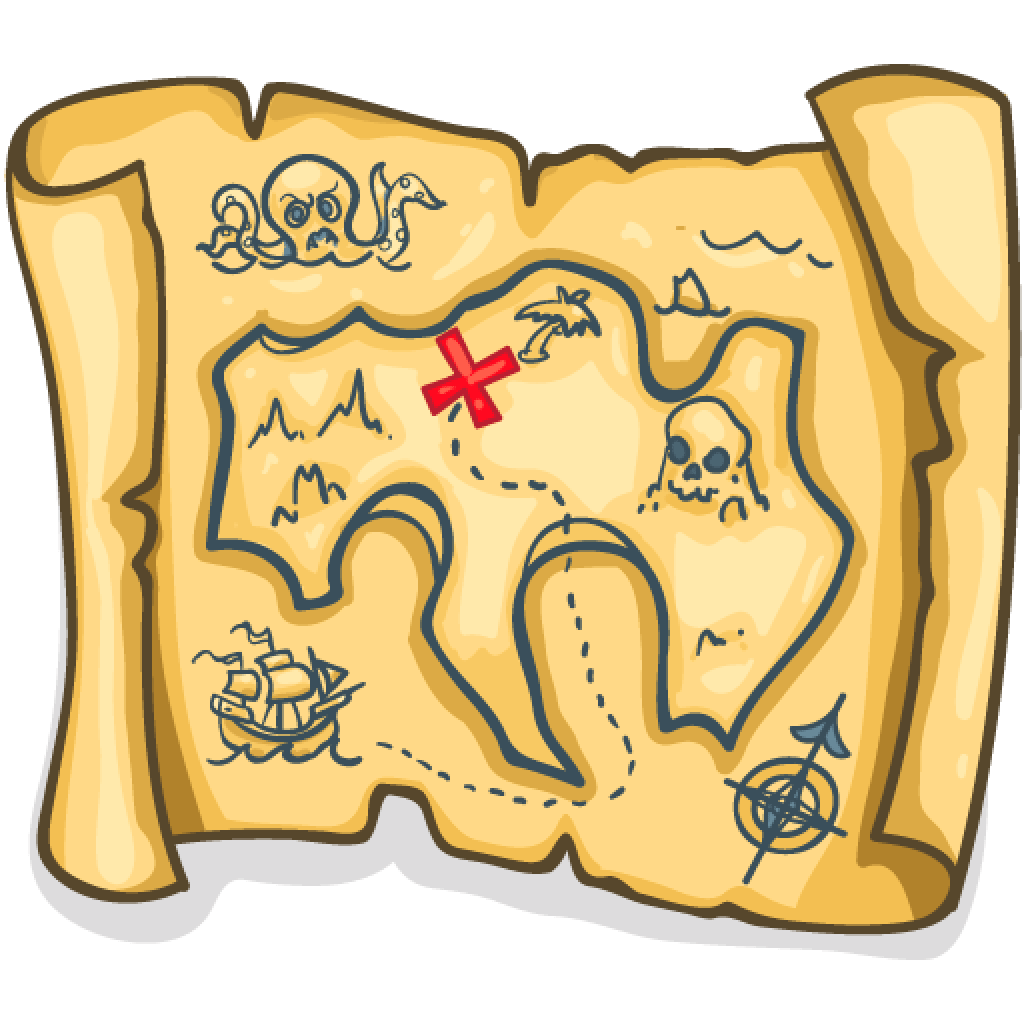 Treasure Map Drawing
