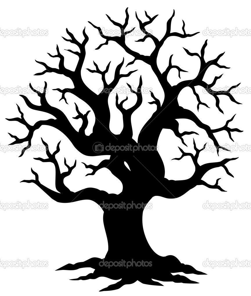 865x1023 tree silhouette hollow tree silhouette