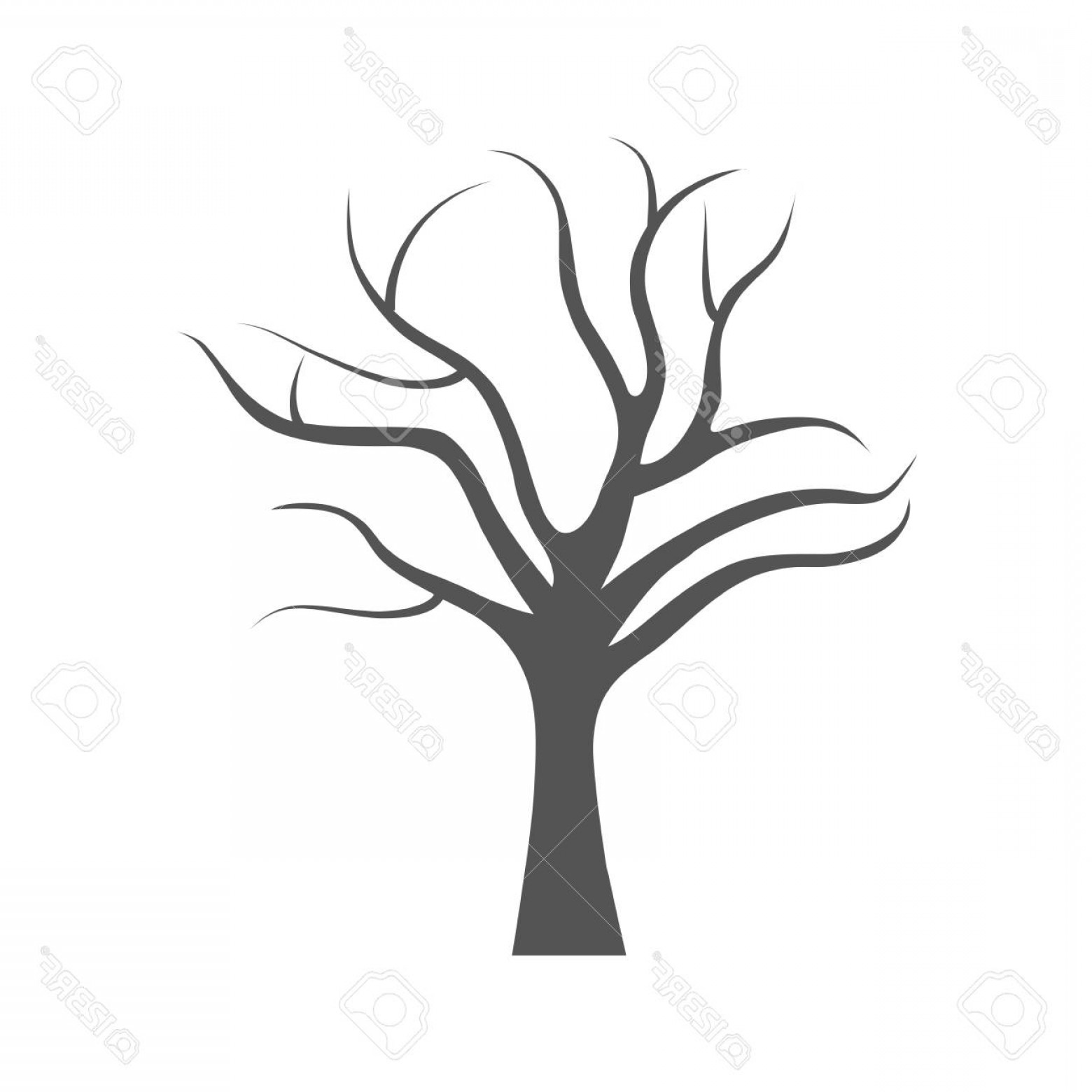 Tree Drawing No Leaves Free Download On Clipartmag