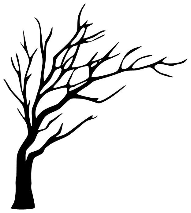 Tree Drawing On Wall Free Download On Clipartmag