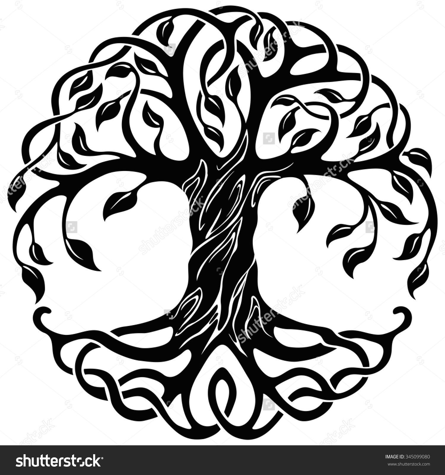 1500x1600 tree of life clipart new tree life with roots clipart tree of life