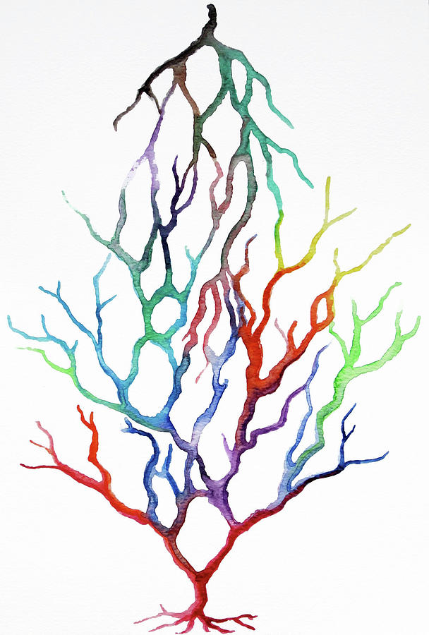 608x900 Tree Of Life Painting