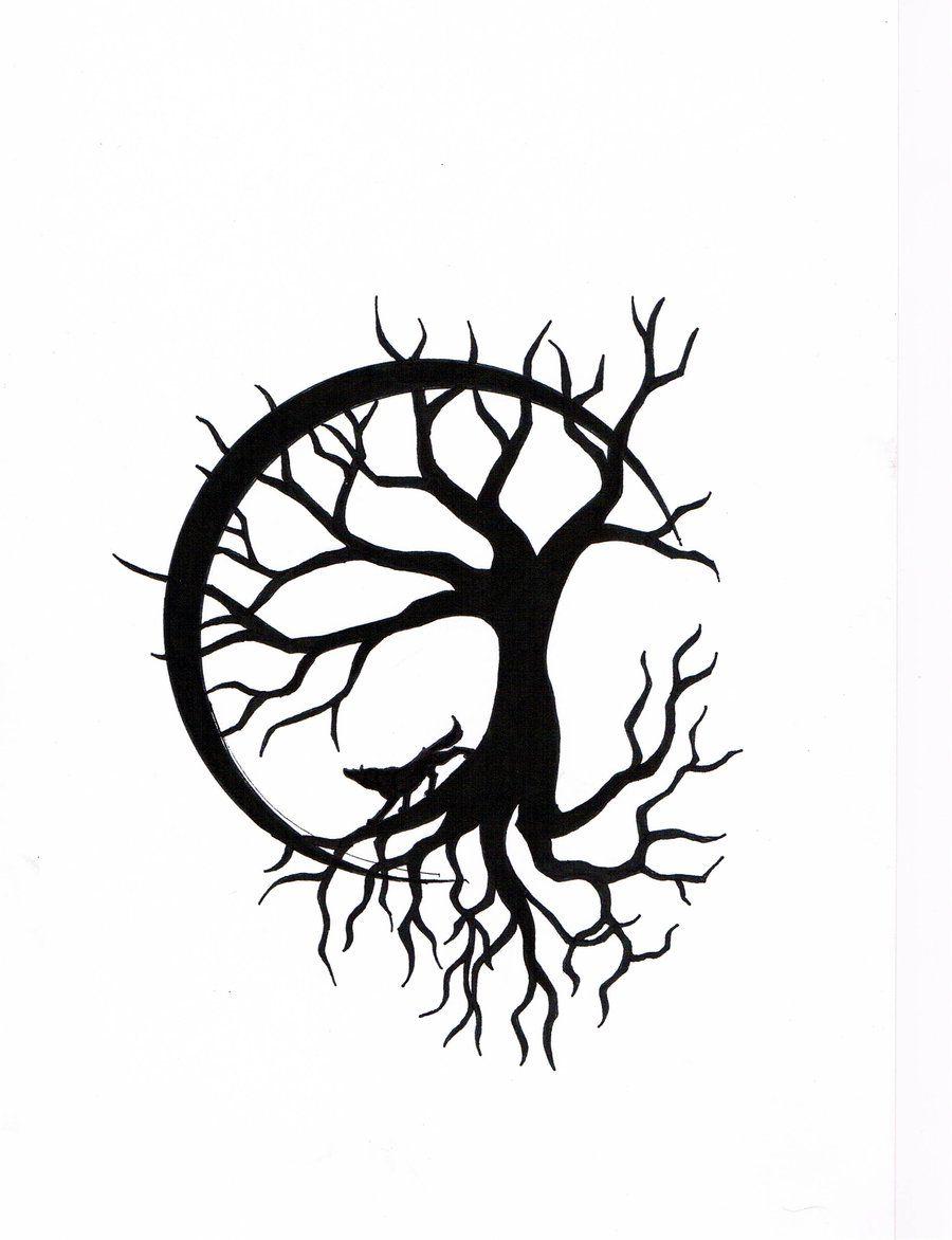 900x1172 Tree Of Life Tattoo Drawing