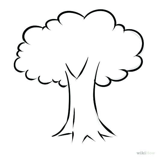 525x525 Easy Tree To Draw