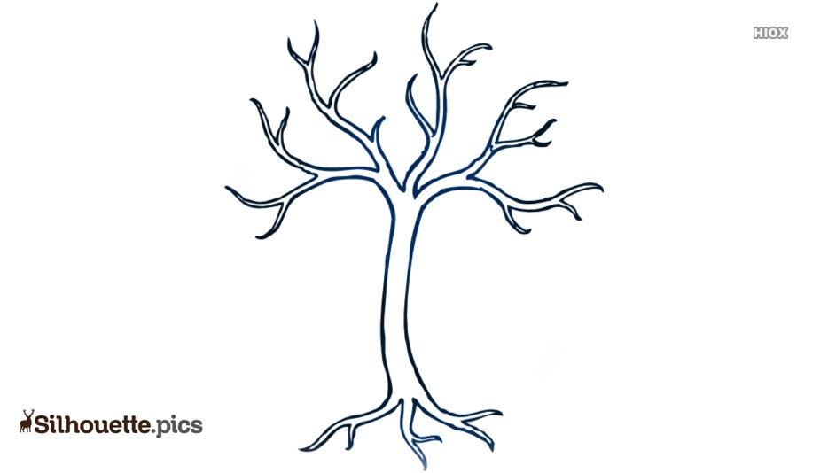 934x534 winter tree silhouette drawing, bare tree image silhouette pics