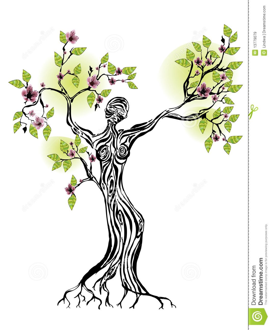 1065x1300 female silhouette tree of life spring tree with women silhouette