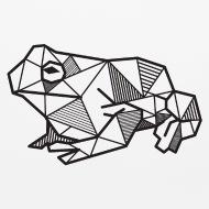 190x190 Frog Geometric Polygon Gift Idea Triangle Animal Mouse Pad