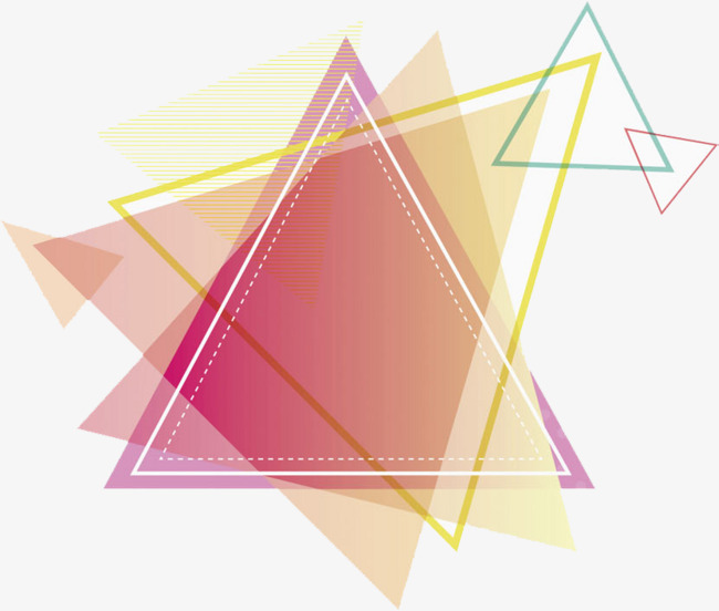 650x552 Red Triangle, Triangle Clipart, Cartoon Hand Drawing Png Image