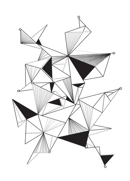 433x600 Triangle Composition As Poster