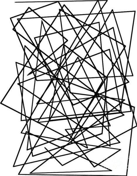 467x600 Triangle Shape Drawings Fine Art America