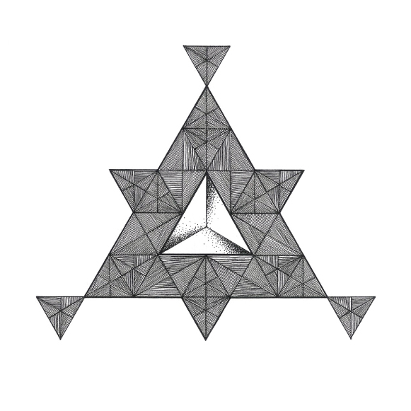 581x581 Triangle Point, Line, Face