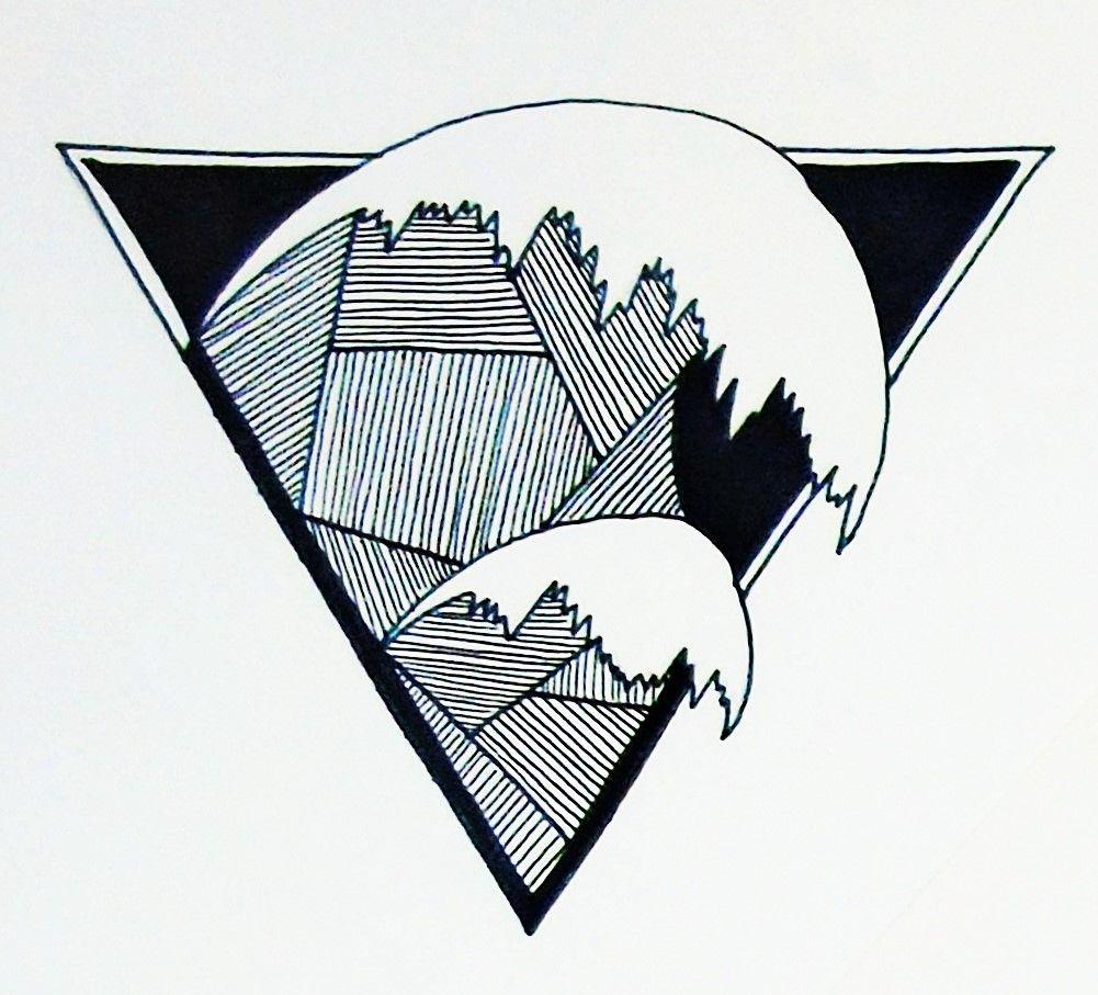 1001x907 Crashing Wave Tattoo Design Illustration Water Alchemy Symbol