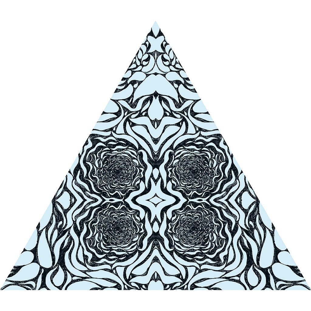 1024x1024 Abstract Pattern Wall Stickers Tagged Triangle