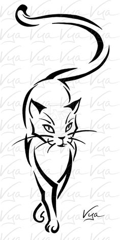 236x472 amazing tribal cat images tribal drawings, stencils, tribal