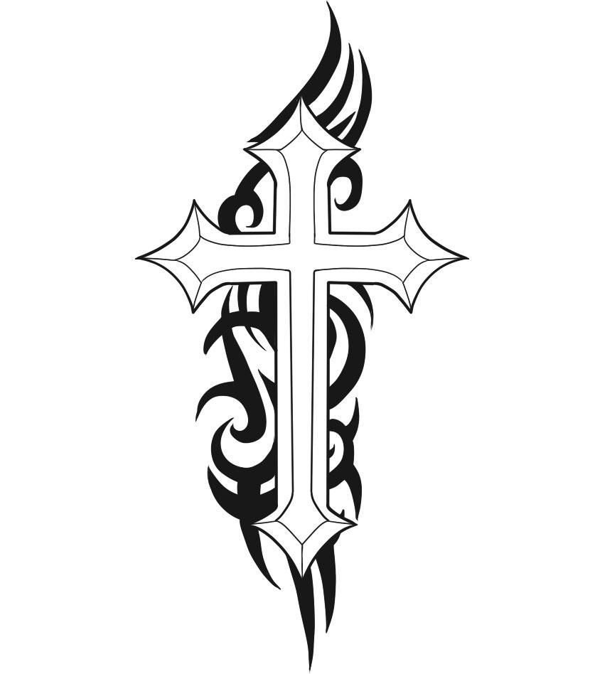 830x948 christian cross tattoos cool cross tattoos designs christian