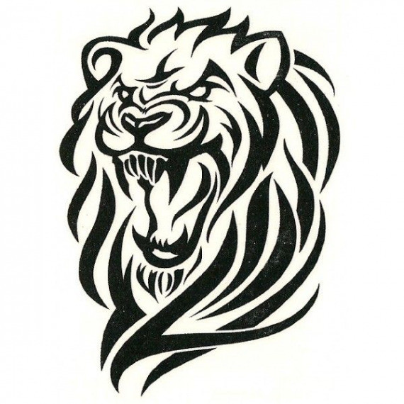 570x570 How To Draw A Tribal Lion Luxury Cool Tribal Tattoo Designs