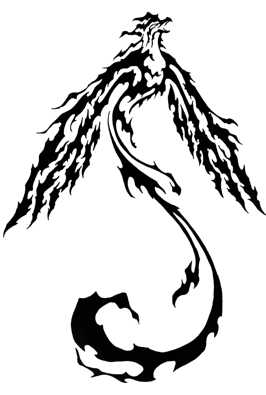 1950x2900 Trend Tribal Phoenix Tattoos Ideas Aspen Nyc Wallpaper