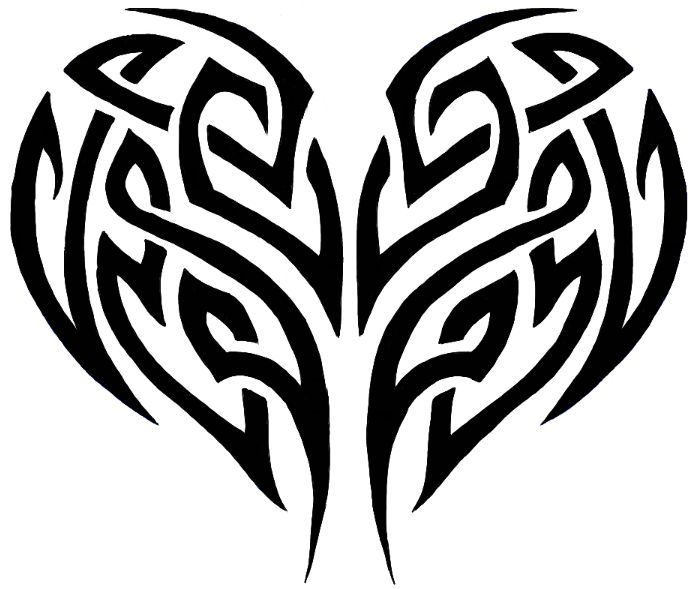 696x589 Cool Easy Drawings Of Hearts Tattoos Ideas And Designs