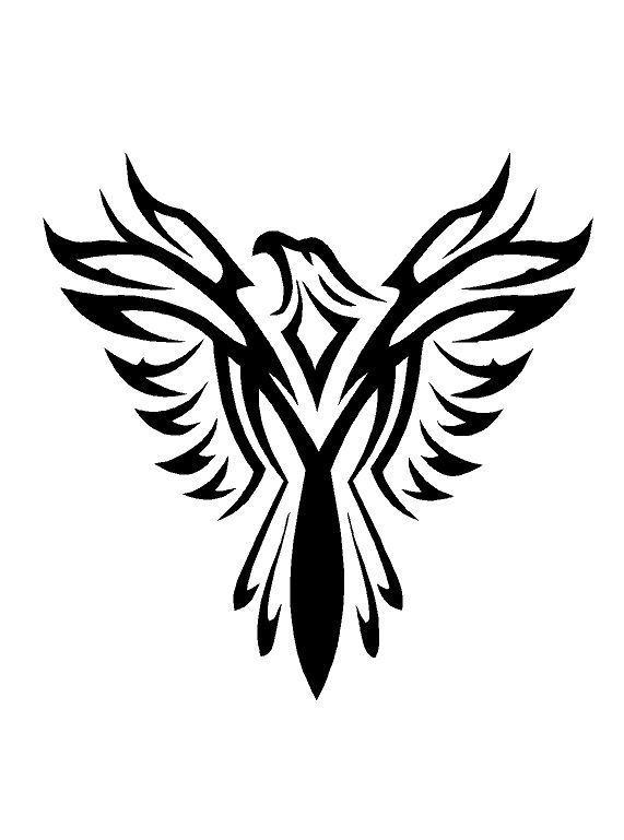 571x769 celticgothictribal eagle mylar stencil reusable art