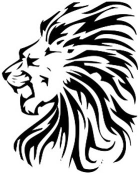 280x350 lion tattoos for women tattoos lion head tattoos, tribal lion