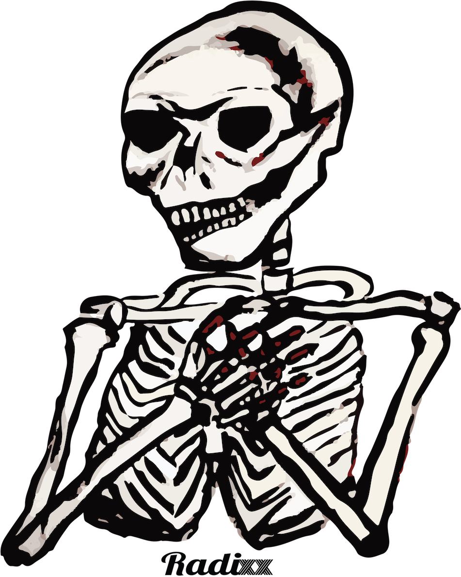 951x1189 Old Drawing Skeleton Transparent Png Clipart Free Download