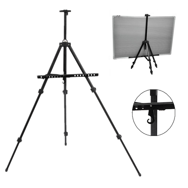 600x600 telescopic easel tripod display artist painting drawing board