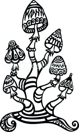 269x448 trippy mushroom coloring pages mu drawing coloring pages trippy