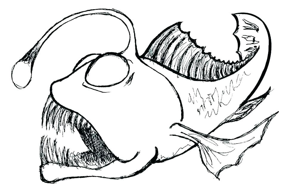 970x658 fish coloring sheet cartoon fish coloring pages tropical fish