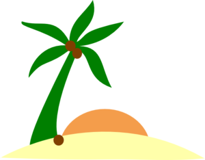 300x234 island tropical island transparent png clipart free download