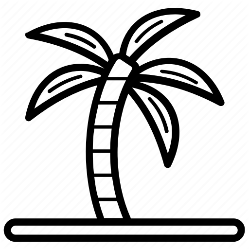 512x512 bay, beach, island, tropical area, tropical island icon
