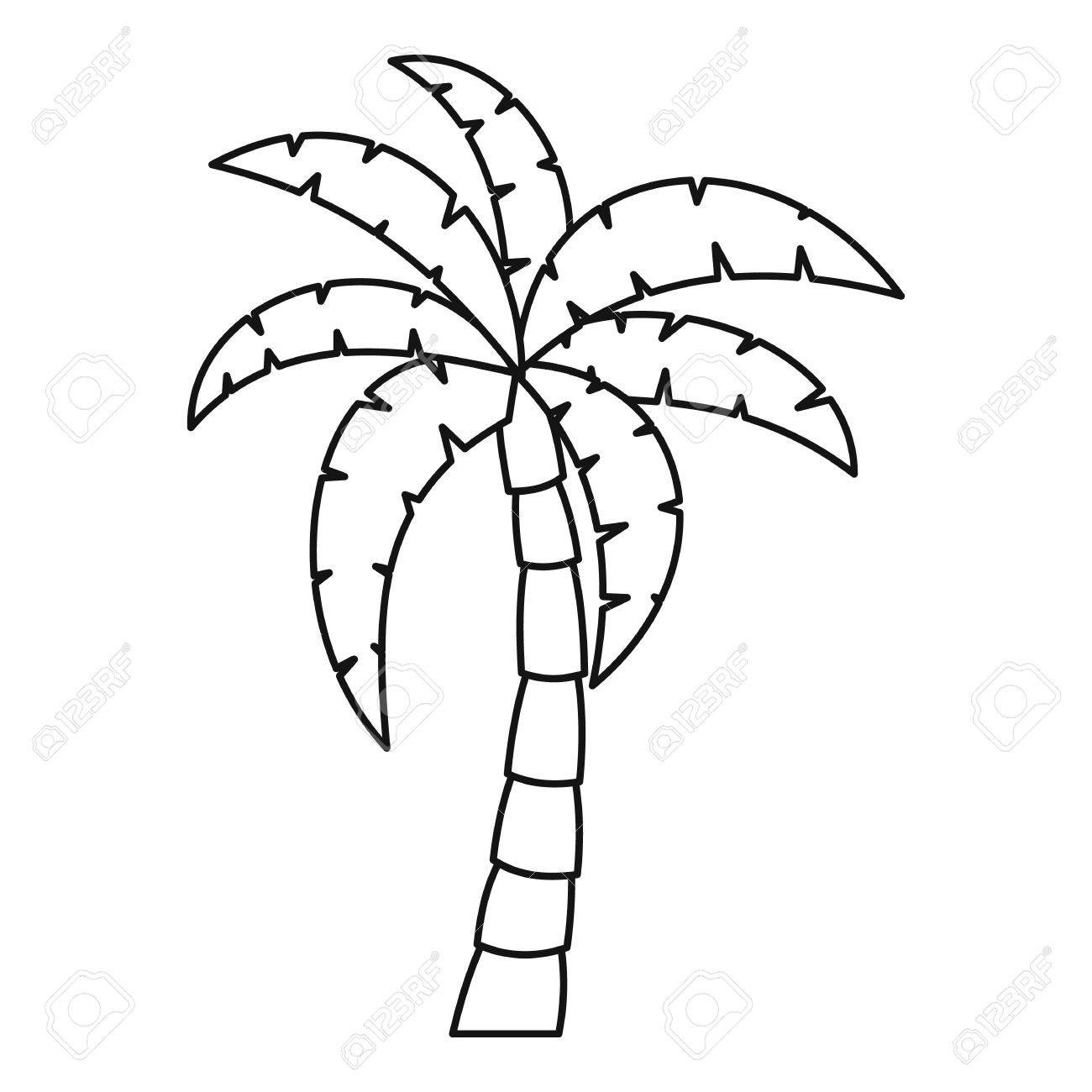 Tropical Tree Drawing