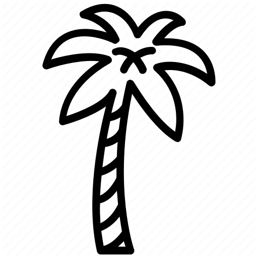 512x512 date palm, date tree, palm tree, spiritual element, tropical tree icon