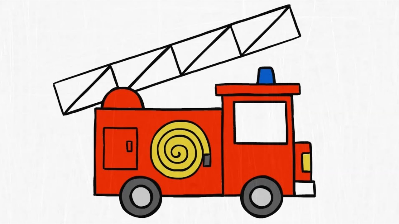 Truck Drawing For Kids