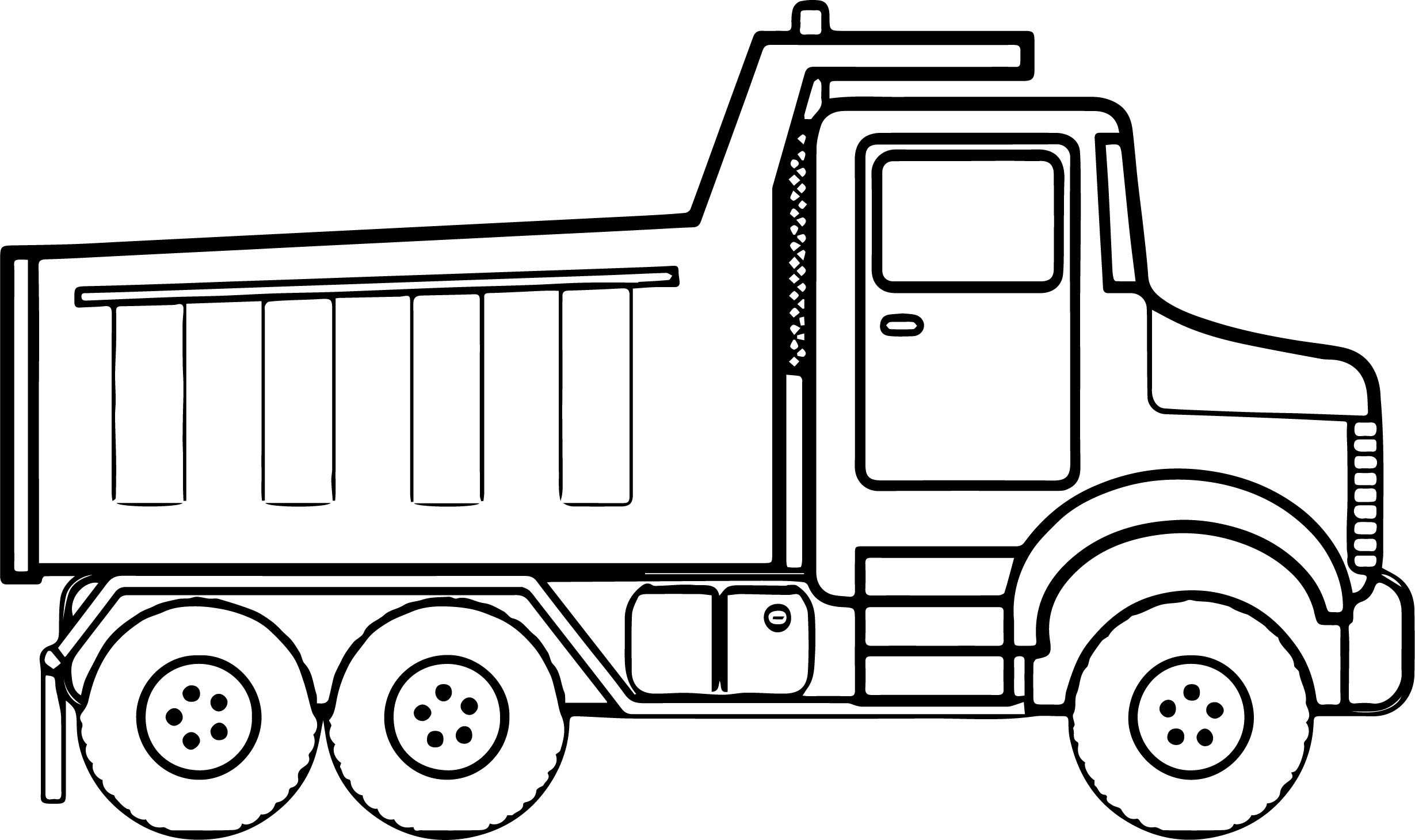 Truck Drawing For Kids   Free download on ClipArtMag