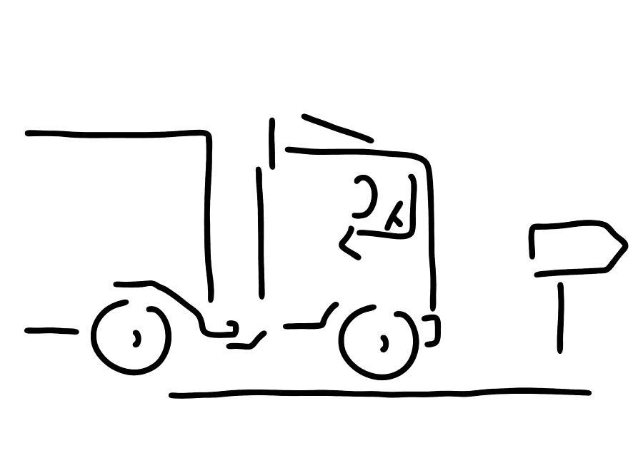 900x635 occupational motorist truck driver drawing