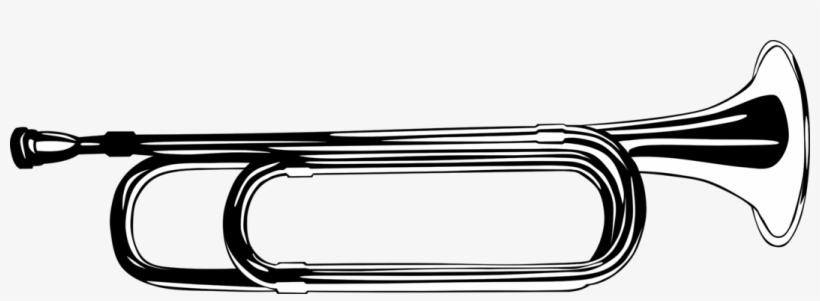 820x301 Bugle Drawing Trumpet Musical Instruments Cartoon