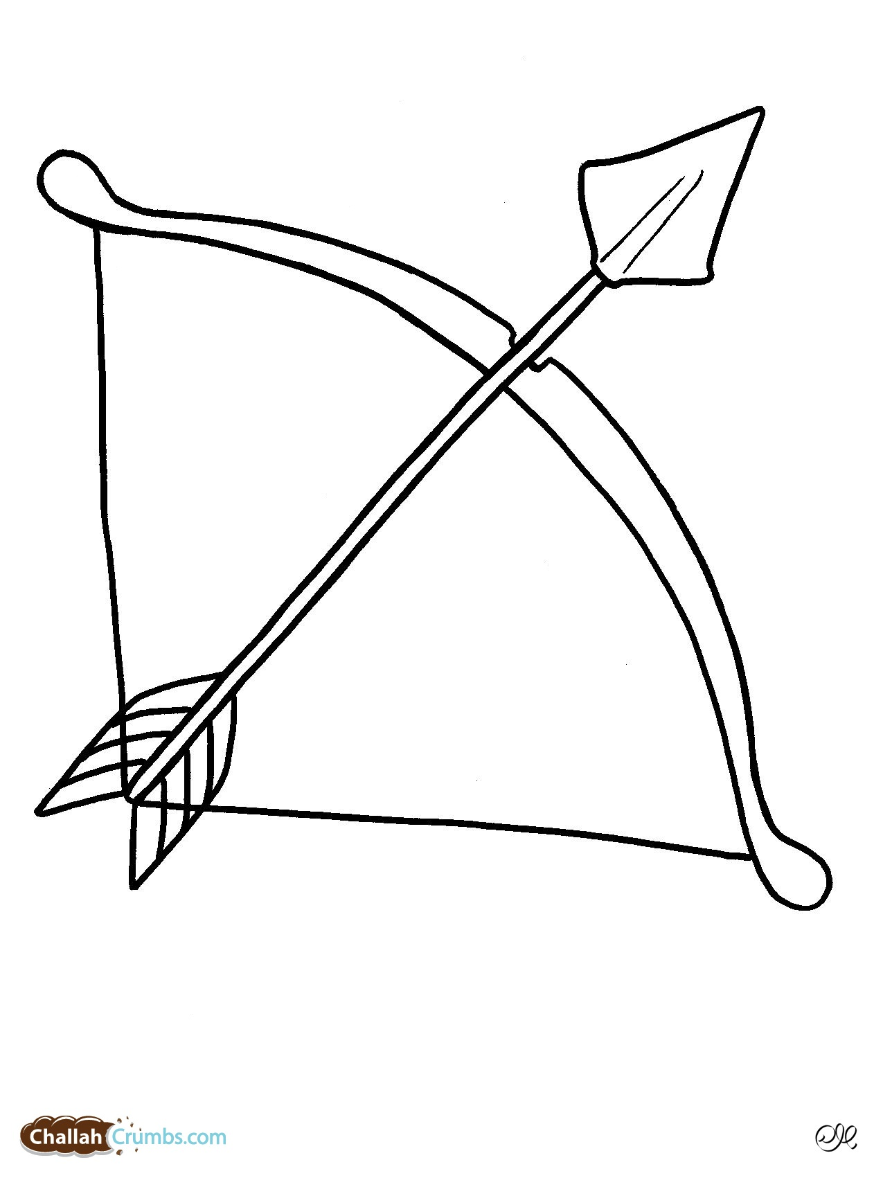1275x1701 Arrow Drawing Kid For Free Download
