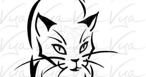 471x250 Cat Drawings Easy And Cute Bobcat Tumblr For Beginners