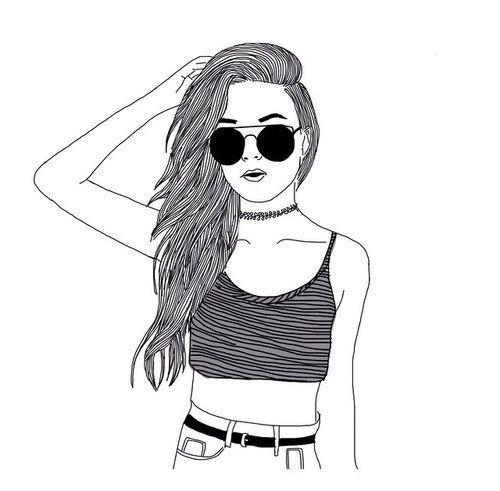 500x491 Cool Girl Drawings, Tu