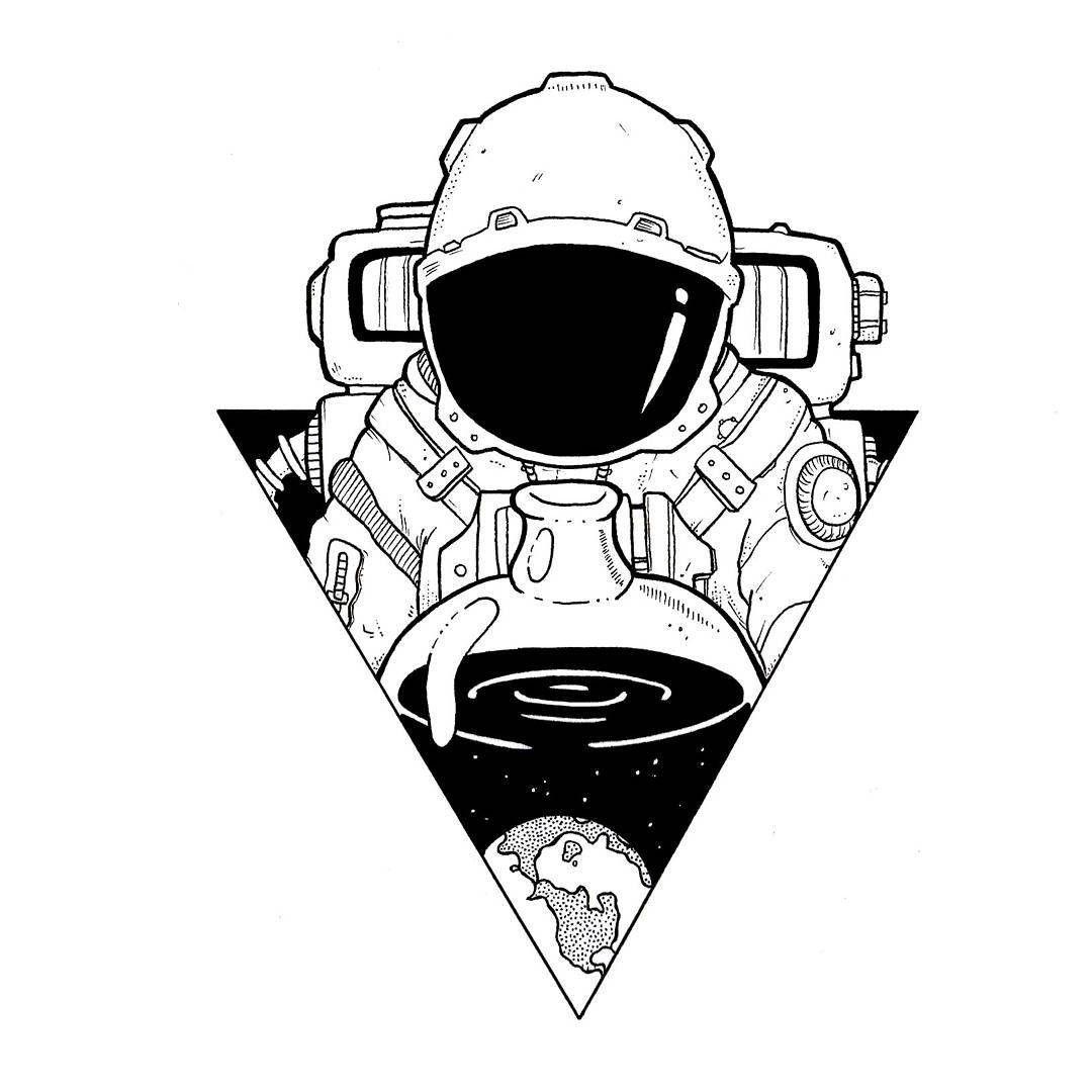 1080x1080 Astronaut