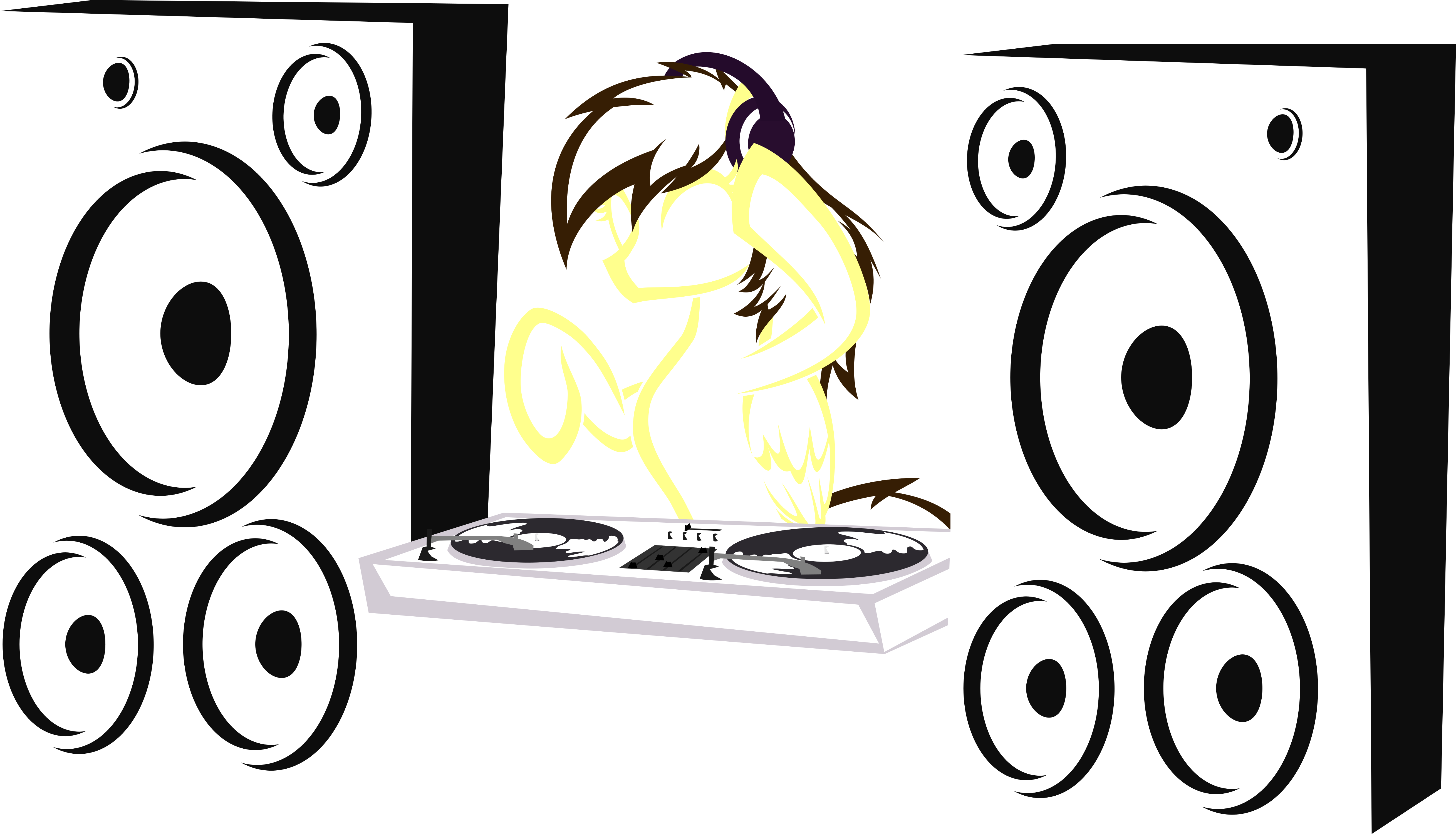 5236x3000 Turntables Drawing Tumblr Transparent Png Clipart Free Download