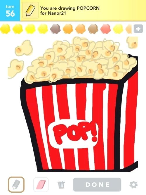 500x667 drawing of popcorn more popcorn drawings popcorn drawing tumblr