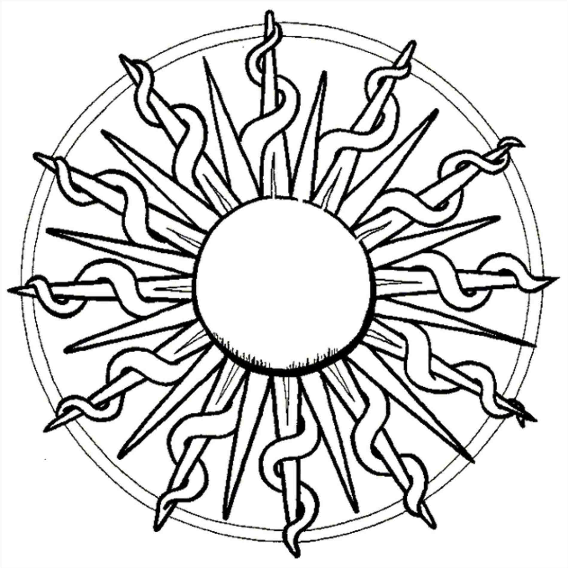 Tumblr Sun Drawing