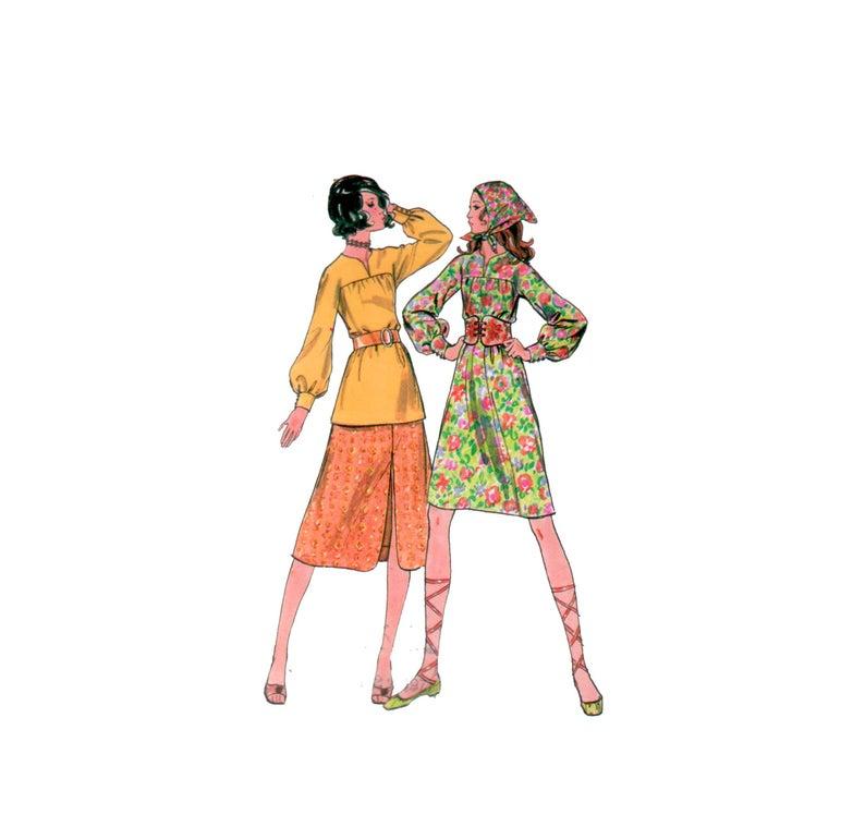 794x759 dress pattern uncut shirt dress pattern tunic pattern etsy