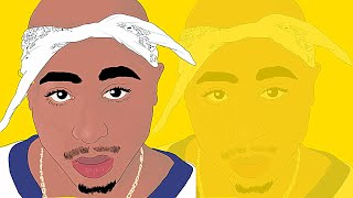 320x180 How To Draw A Quick Caricature Tupac Videos Infinitube