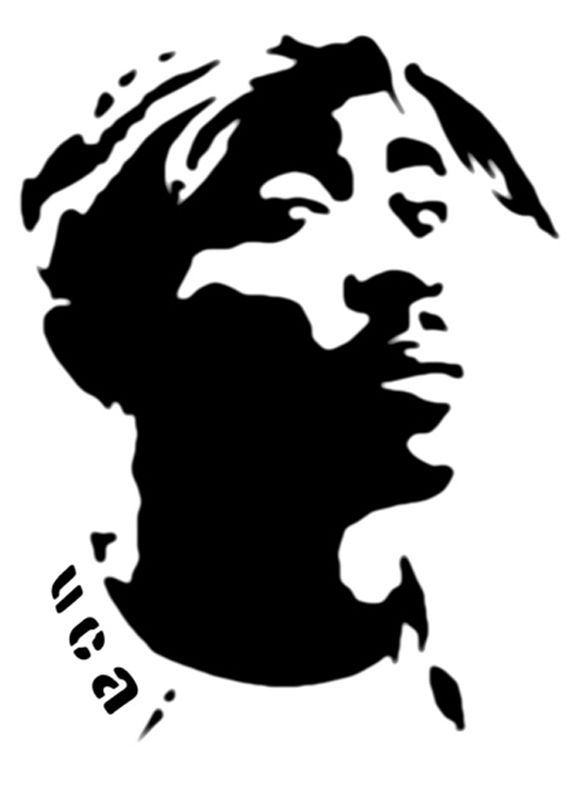 567x801 Drawings Tupac Art, Stencil Art